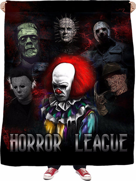 Horror League Fleece Blanket