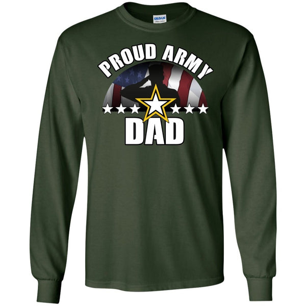 Long Sleeve - Army Dad Long Sleeve Tshirt