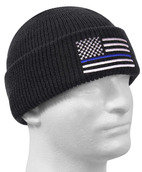 American Blue Line Knit Hat