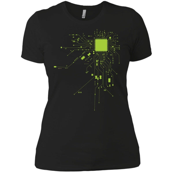 Short Sleeve - CPU Heart Womens Tshirt