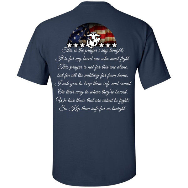 Short Sleeve - Marine Dad Mens Tshirt