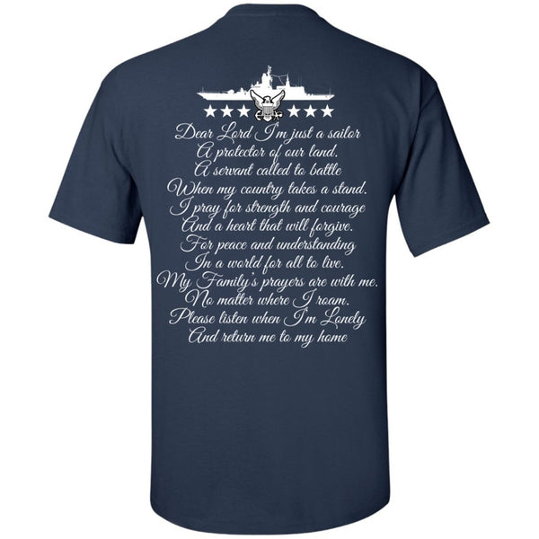 Short Sleeve - Navy Dad Utlra Cotton Tshirt