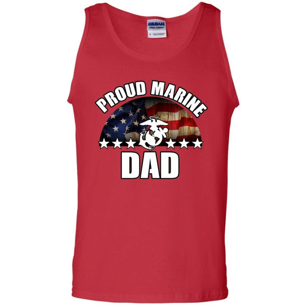 Sleeveless - Marine Dad Tank Top