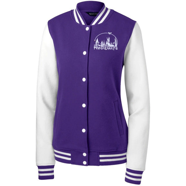 Sweatshirts - Hogwarts Disney Women's Fleece Letterman Jacket