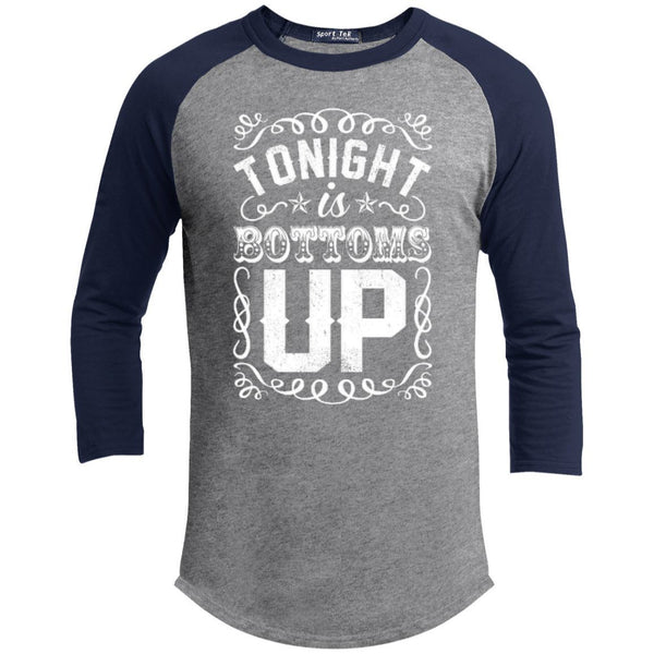 T-Shirts - Bottoms Up Sporty Tee Shirt