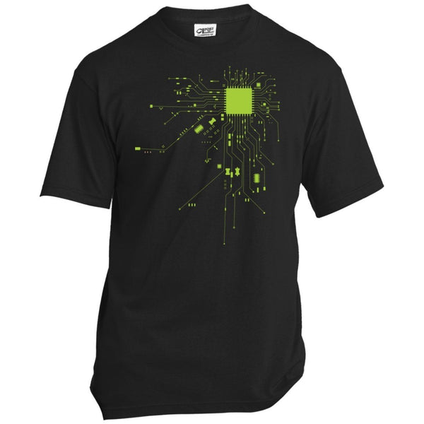 T-Shirts - CPU Heart Mens Tshirt