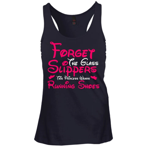 T-Shirts - Forget The Glass Slipper Juniors Racerback Tank Top