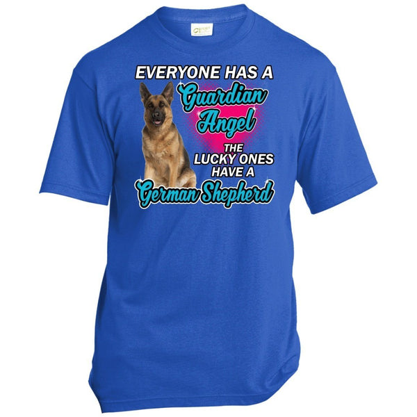 T-Shirts - German Shepherd Guardian Mens