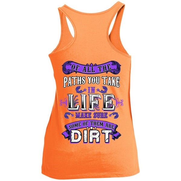 T-Shirts - Life Paths Juniors Racerback Tank Top