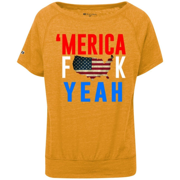 T-Shirts - Merica Fuck Yea Juniors' Charisma Shirt
