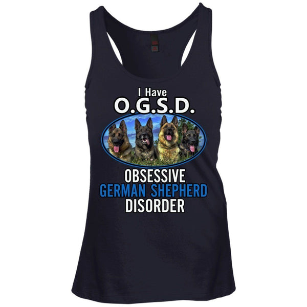 T-Shirts - OGSD Juniors Racerback Tank Top