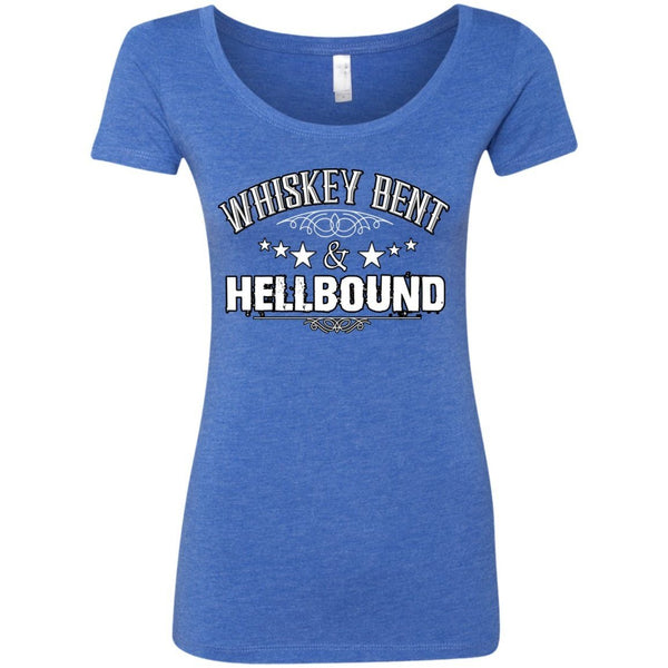 T-Shirts - Whiskey Bent Next Level Ladies Triblend Scoop