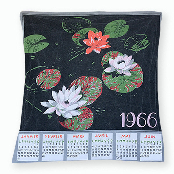 1966 teatowel cushion cover