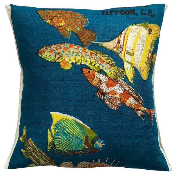 Greetings from Yeppoon souvenir teatowel cushion cover