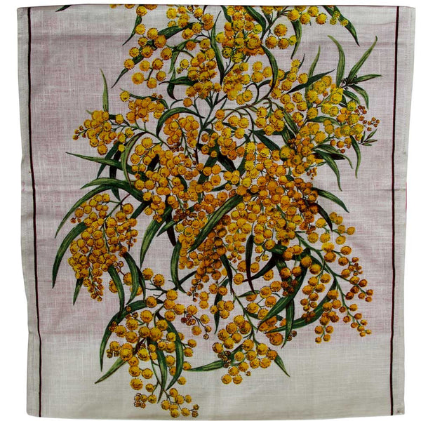 Love And West Bairnsdale, Vic vintage linen teatowel cushion cover