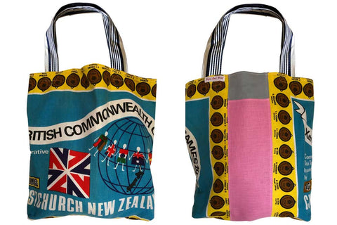 Christchurch games teatowel tote