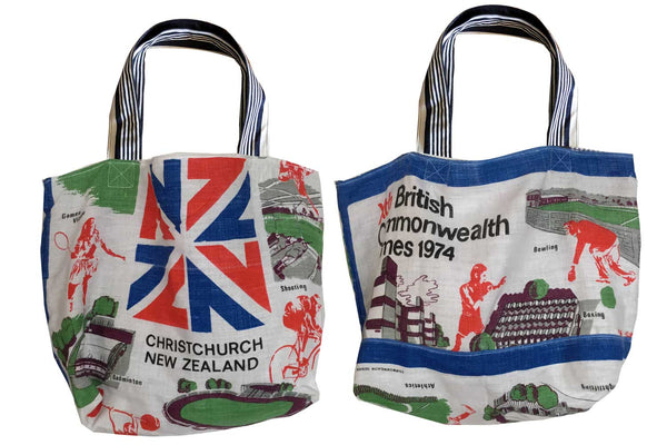1974 Christchurch commonwealth games tote bag