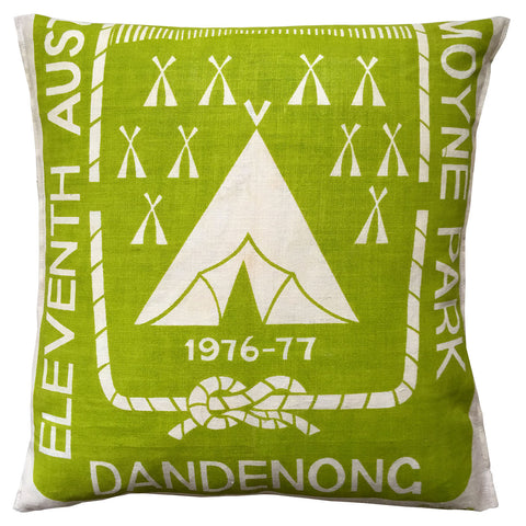 Dandenong Jamboree 1976/77 teatowel cushion cover