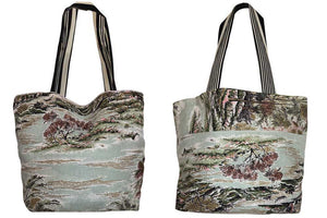 Forest furnishing fabric tote bag