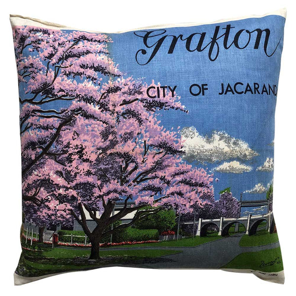 Pastel Grafton, city of Jacarandas