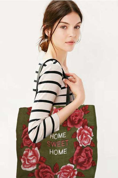 Home Sweet Home shopping tote bag