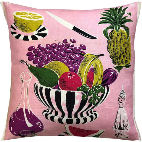 Kitchen vintage teatowel cushion cover