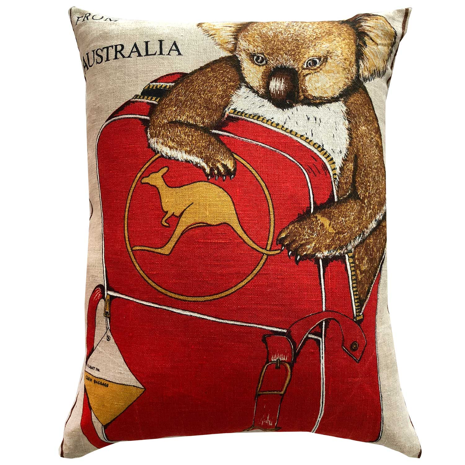 Koalas travel Qantas
