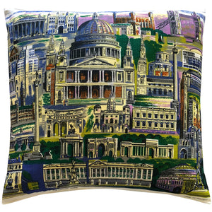 London sights souvenir teatowel pillow cover