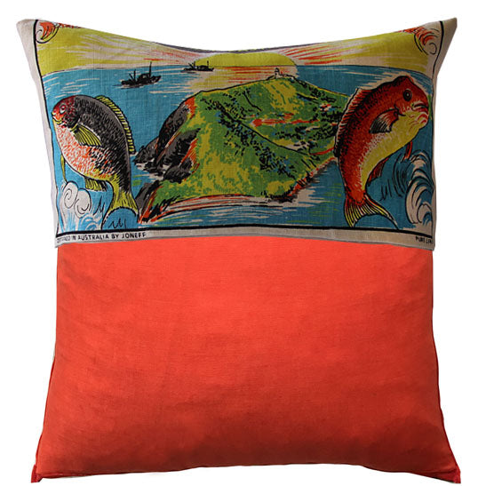 Byron Bay teatowel cushion cover