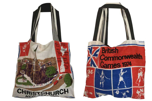 Commonwealth Games Christchurch teatowel tote