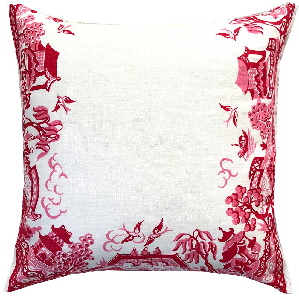 Pink willow pattern perfection