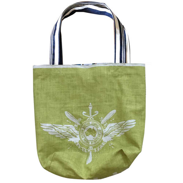 Royal Flying Doctor Service Khaki Teatowel tote