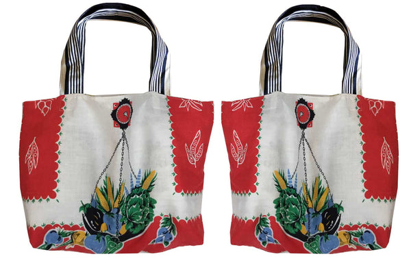 Vege weights tote bag