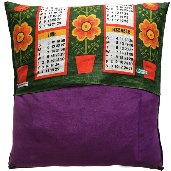 Seventies '77 teatowel cushion cover