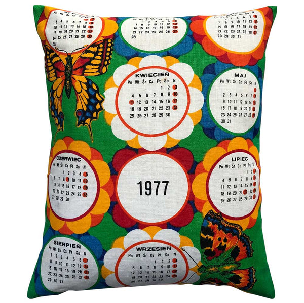 Sunny 77 birthday teatowel cushion cover