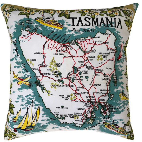 Tasmania map and travel