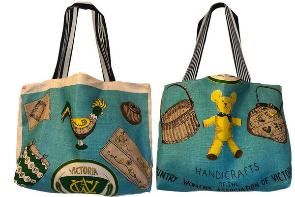 Make a teatowel shopping bag workshop