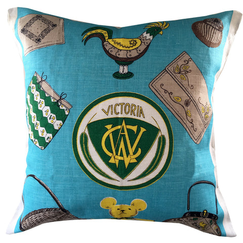 Victoria CWA classic Australiana retro cushion