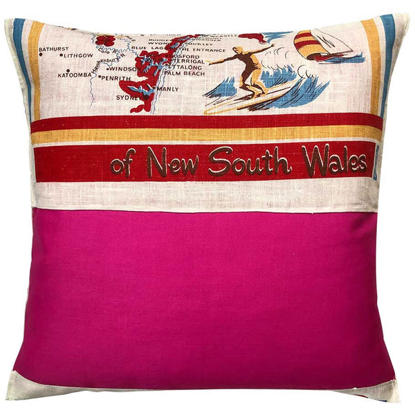 new south wales north coast souvenir cushion cover
