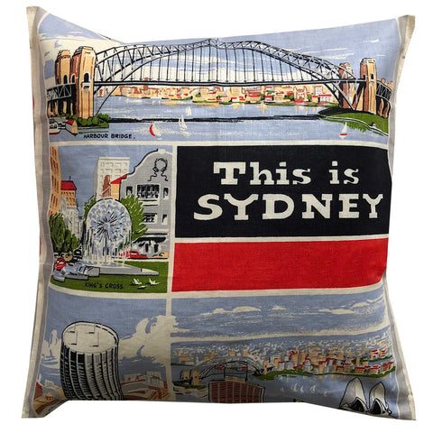 This is Sydney vintage cushion cover