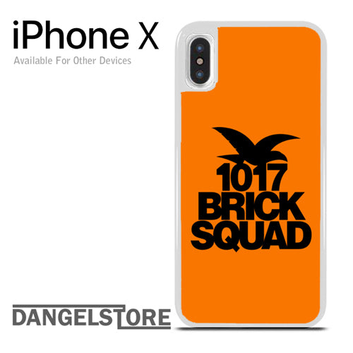 1017 brick squad - iphone X case - DANGELSTORE