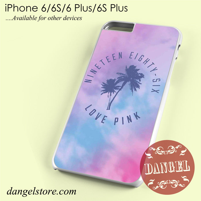 1986 Love Pink Phone Case for iPhone 6/6s/6 Plus/6S Plus - dangelstore