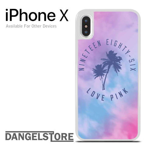 1986 Love Pink - iphone X case - DANGELSTORE