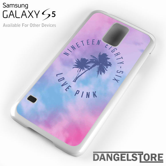 1986 Love Pink - Samsung Galaxy Case - Samsung S5 Case