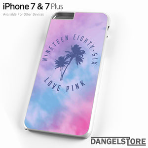 1986 Love Pink - iPhone Case - iPhone 7 Case - iPhone 7 Plus Case - DANGELSTORE