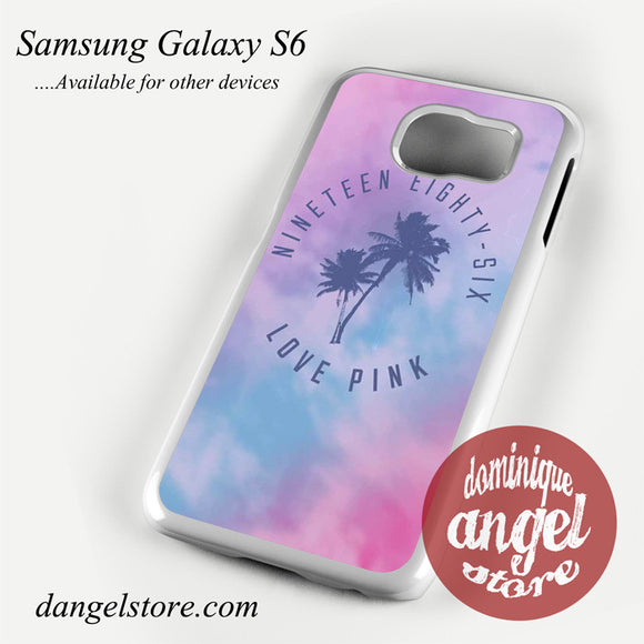 1986 Love Pink Phone Case For Samsung Galaxy S6 And Another Samsung Galaxy Devices - dangelstore