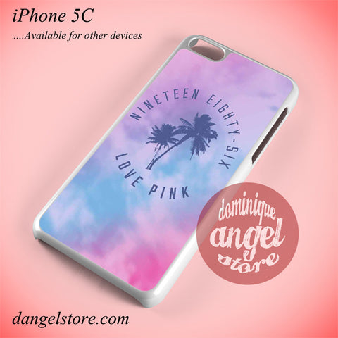 1986 Love Pink Phone case for iPhone 5C and another iPhone devices - dangelstore