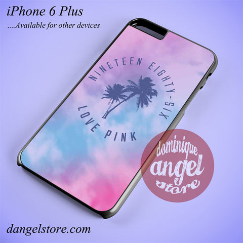 1986 Love Pink Phone case for iPhone 6 Plus and another iPhone devices - dangelstore
