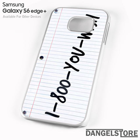 1 800 you wish Z - Samsung Galaxy Case - Samsung S6 Edge Plus Case - DANGELSTORE