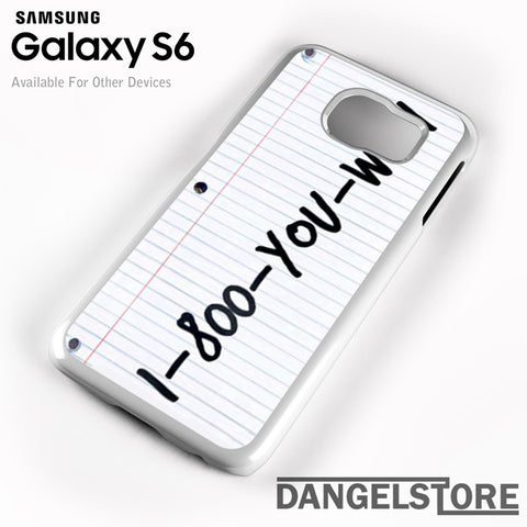 1 800 you wish Z - Samsung Galaxy Case - Samsung S6 Case - DANGELSTORE